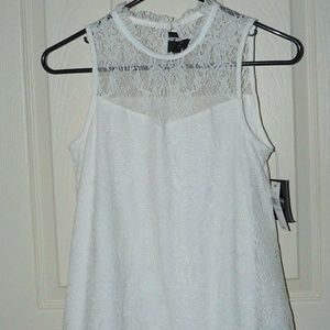 by & by Lace Blouse Size xs